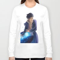 bane Long Sleeve T-shirts featuring Magnus Bane by taratjah