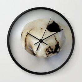 Smoke-Fired Pot Wall Clock