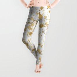 Golden Splatters  Leggings