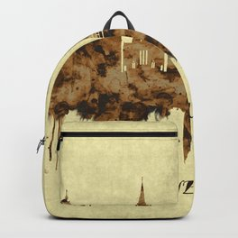 Edinburgh Scotland Cityscape Backpack