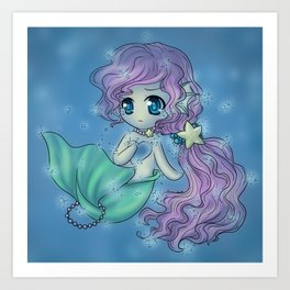 Little Seafoam Art Print