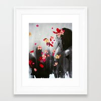 rush Framed Art Prints featuring Rush by Stasia B