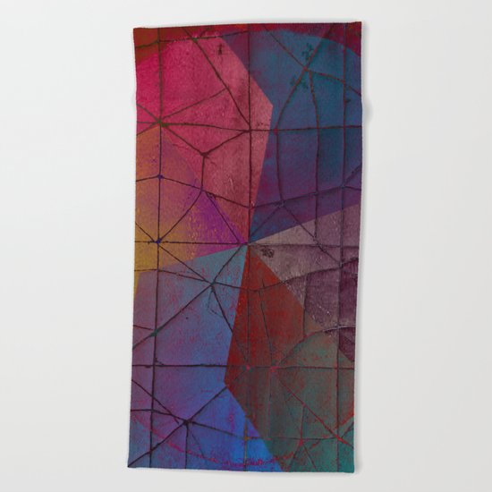 pattern 77 Beach Towel