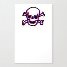 Skully 3D Canvas Print