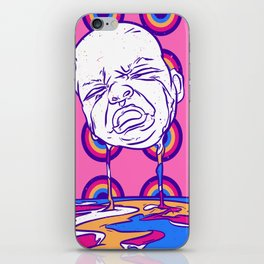 Crying baby iPhone Skin