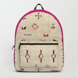 A39 Original Traditional Anthropologie Moroccan Texture. Backpack