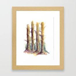 woodsy Framed Art Print