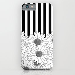 Daisy Stripe iPhone Case
