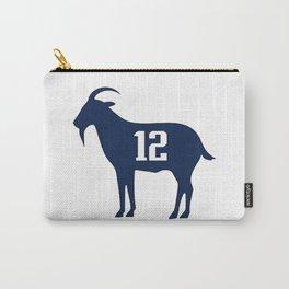 Goat tb12 tom Brady Carry-All Pouch
