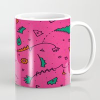 cities Mugs featuring Cities by Amanda Trader