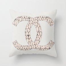 cats-299 Throw Pillow