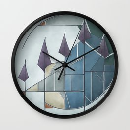 Get to the Point Wall Clock