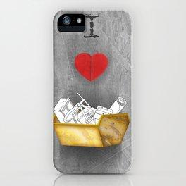 i heart skips iPhone Case