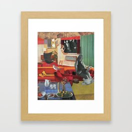 A Normal Life Framed Art Print