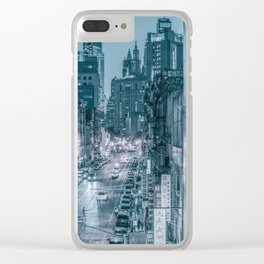 ChinaTown New York Clear iPhone Case