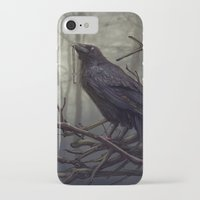 raven iPhone & iPod Cases featuring Raven by Raven-Art