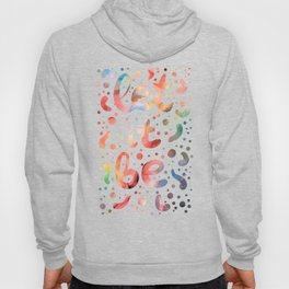 Colorful watercolor abstraction II Hoody