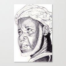 sheikh ibrahim nyass Canvas Print