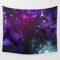 avatar Wall Tapestries featuring the avatar state by Chiaris