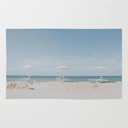 beach vibes xi / italy Rug