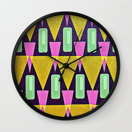 Velas pattern Wall Clock
