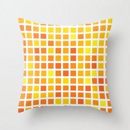 City Blocks - Sunshine #959 Throw Pillow
