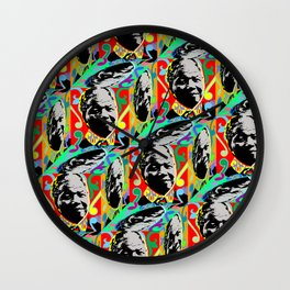 AFRICA / MANDELA no 1 Wall Clock