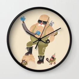 Getting Ready! Wall Clock