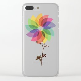 The windmill in my mind Clear iPhone Case