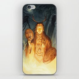 Dayaana ~ A Compendium Of Witches iPhone Skin