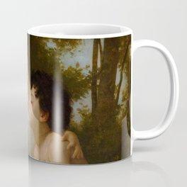 """William-Adolphe Bouguereau """"Les Enfants à L'Agneau (Children With the Lamb)"""" Coffee Mug"""