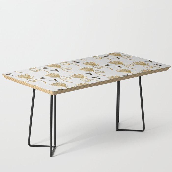 Hummingbird & Flower I Coffee Table