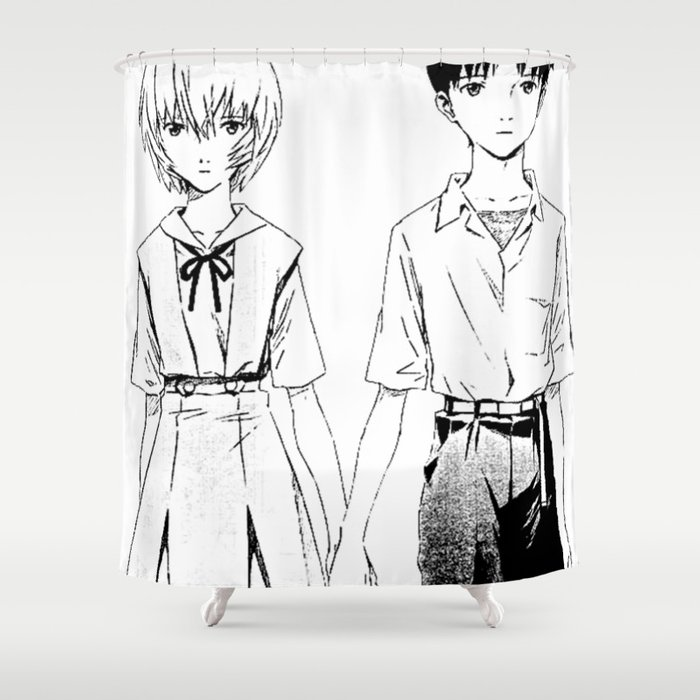 Brother & sister Shower Curtain