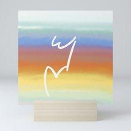 W&V Rises with the Sun Mini Art Print
