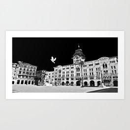Piazza Unità Art Print