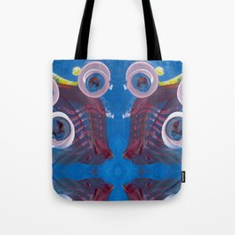 Transitions - Reflections on the edge of anxiety Tote Bag