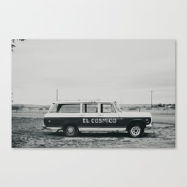 El Cosmico Car, Marfa TX Canvas Print
