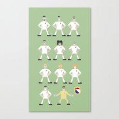 football madrid Canvas Print
