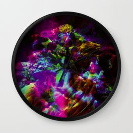 """""""Colors Of The Deep"""" Wall Clock"""