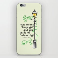 You Are My Lamplight (commission) iPhone & iPod Skin