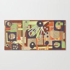 Louise's Lash Canvas Print
