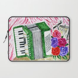 Accordion with roses Laptop Sleeve