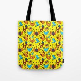 Crazy Birds Tote Bag