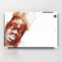 biggie smalls iPad Cases featuring Biggie  by Allison Kunath