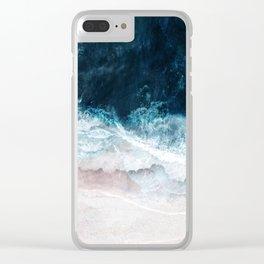 Blue Sea II Clear iPhone Case