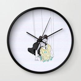 Doll Parts Wall Clock