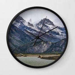 Parque Nacional los Glaciares - Patagonia - Argentina Wall Clock