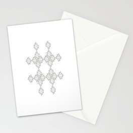 electronic shapes Stationery Cards