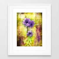 mexican Framed Art Prints featuring Mexican Petunia by Judith Lee Folde Photography & Art