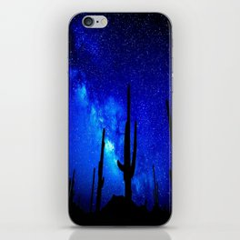 The Milky Way Blue iPhone Skin